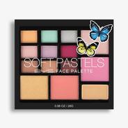Paleta De Sombras Y Rubores Para Rostro - Face Palette Soft