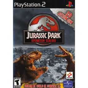 Jurassic Park Operation Genesis - Playstation 2