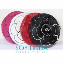 Cartera En Eco Cuero En Forma De Flor 17 X 17cm Soy Linda