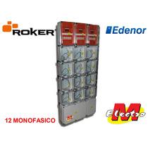 Gabinete 12 Medidor Edenor C/termica Roker Electro Medina