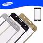 Tela J7 J700 Vidro Samsung - Peça Dourada, Preta Ou Bco