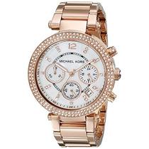 Reloj Michael Kors Collection Mk5491 Parker Rose Envio Grati