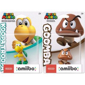 Amiibo Goomba Koopa Troopa Super Mario Bros Switch 3ds Wii U