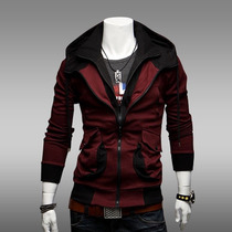 Chamarra Assassins Creed Hoodie Moda Slim Fit Hombre Gorro