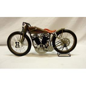 Miniatura Harley Davidson 1927 8 Valve Racer Escala 1/6