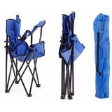 Cadeira Dobravel Braço Porta Copo Camping Pescaria Com Bolsa