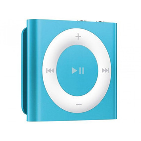 Ipod Shuffle Com 2gb De Memória E Voice Over Apple Azul