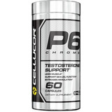 Cellucor P6 Chrome Suporte A Testosterona 60 Caps