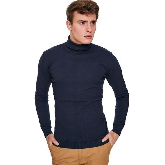 Sweaters Polera Hombre Entallado Pullover Calidad Premium