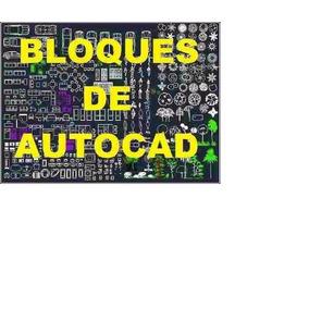 +10.000 Bloques Autocad 2d - 3d Dibujos