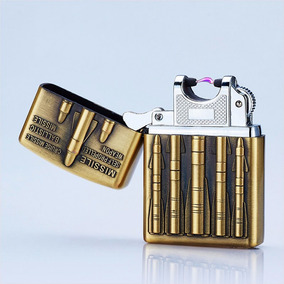 Encendedor Usb Arco Electrónico Recargable Militar 5pzas