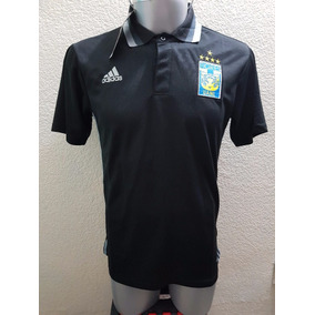 Jersey Playera Polo Tigres Negro
