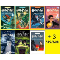 Libro De Harry Potter Digital Alta Calidad + 3 Regalos