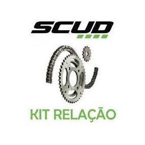 Kit Relação Cb300 C/retentor Marca Scud Corrente Kmc