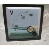 Reloj Voltimetro Generador Planta Panel Control 300v