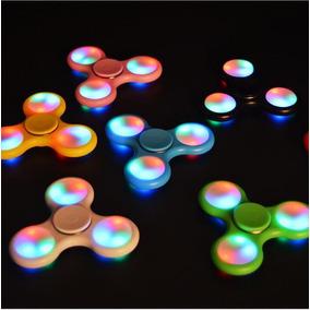 Fidget Spinner Hand Spinner Luz Led Antiestres Envío Gratis
