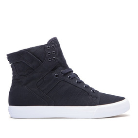 Zapatillas - Supra Skytop - Black / White (lona)