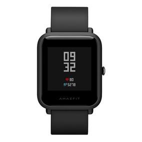 Mi Amazfit Reloj Inteligente Impermeable Con Notificac Black