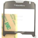 Lente Vidrio Plateado Para Blackberry Curve 8350i 8330 8320