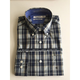 50% Off Camisas Náutica Wrinkle Resistant.h Talla M