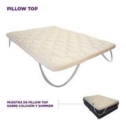 Pillow Top Soft Desmontable 190 X 140 X 5 Cm