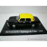 Renault 8 Taxi Del Mundo Santiago De Chile 1965 1/43
