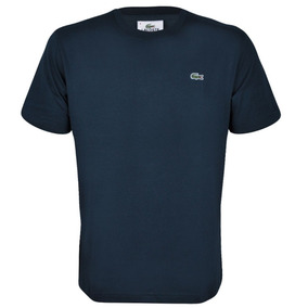 Camiseta Lacoste Masculina | Azul Petróleo