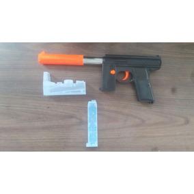 Pistola 2 En 1 Esferas De Agua Y Dardos