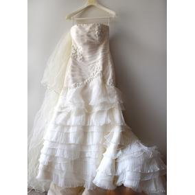 ¡hermoso Vestido De Novia! Alta Costura