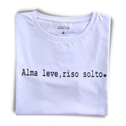 Tshirt Estampada Blusas Femininas Baratas Alma Leve