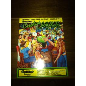 Pinball Fliperama Gottlieb Cactus Jack