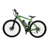 Bicicleta Elétrica Machine Motors Legend 350w 36v Verde/pret