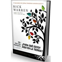 Libro Una Vida Con Propósito De Rick Warren Edición Ampliada