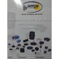 Regatón De Plástico Para Tubo Redondo De 1 Calibre 18