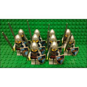 Lego Tropa Castle 10 Soldados Castelo Medieval Original