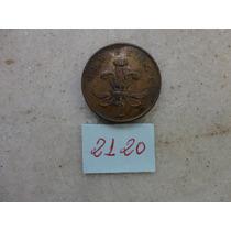 M - 2120 - Moeda Inglaterra 2 New Pence!!!