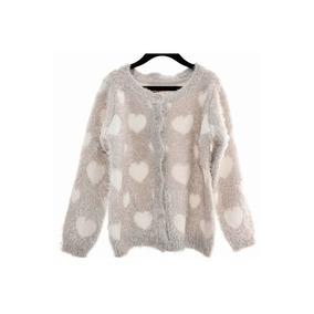 Sweater Largo Corazones
