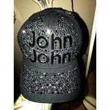 Boné John John Original Edição Limitada Cristais Svarowisk 4d5ff9f941ee4