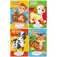 Libros. Colección Pop-ups En Todas Las Paginas. Animales X4