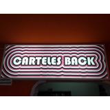 Cartel Backlight (luminoso)