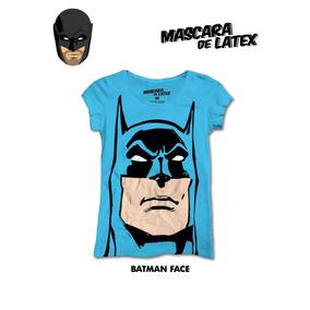 Blusa Mascara De Latex Batman Face Envio Incluido