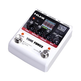 Pedal Delay Nux Time Force - Multi Digital Delay - 11 Delays