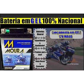 Bateria Moura Em Gel Nx400 Falcon 2006 Ma6d Ref Ytx 7lbs