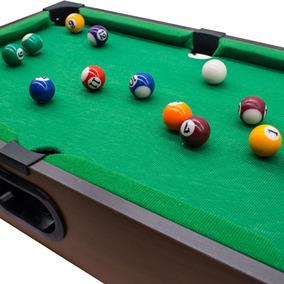 Mini Mesa Sinuca Bilhar Snooker 51x31x9,5cm Frete Grátis