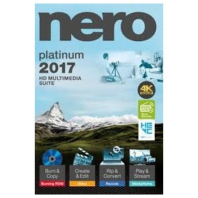 Nero 2017 Platinum Licencia Permanente Envio Gratis
