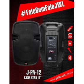 Caixa Ativa 15 Pol 350w Rms Usb, Sd Card Bluetooth Jwl Jpa15