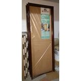 Puerta Placa Oblack Master 70cm Cedro Chapa 18 P/durlock T10