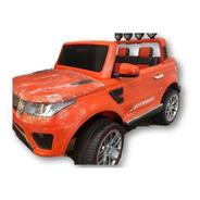 Auto Camioneta A Bateria 12v 4x4 Control Remoto Y Mp3