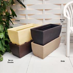 4 Vasos De Planta Rafia Rosa Flor Artificial Arranjo 60x25