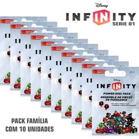 Kit 10 Packs Disney Infinity Power Serie 1 Disco Poder Nfe